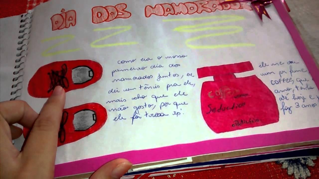 Caderno De 3 Anos Para Namorado *-* .