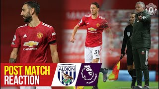 Fernandes, Matic & Solskjaer react to win over West Brom | Manchester United 1-0 West Bromwich