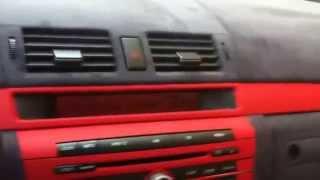 Перетяжка салона алькантарой. Тюнинг салона(В этом видео вы увидете, как происходит перетяжка салона автомобиля Мазда. Для перетяжки салона использова..., 2014-07-29T06:52:05.000Z)