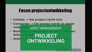 Asset Management: projectontwikkeling