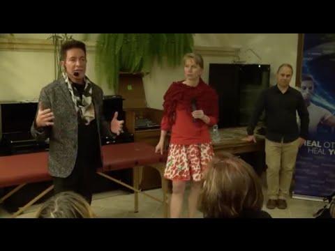 Eric Pearl v Green Garden v Praze 2015 - 4/4 - Eric Pearl in Green Garden hotel in Prague - Part 4/4