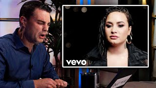 Reacting to Demi Lovato's New Song, 'Commander in Chief'
