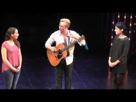 Disaster! Curtain Call: Adam Pascal sings 'One Song Glory' for BCEFA - RENT