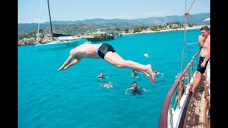 Турция Прогулка на яхте к острову Кекова Пляж Чирали