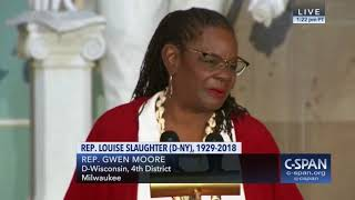 Memorial Service for Congresswoman Louise Slaughter