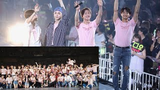 SMTOWN LIVE 2018 IN OSAKA ending (hope) + SHINee cut