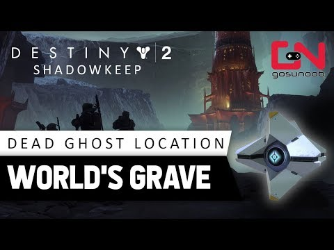 Destiny 2 World's Grave Dead Ghost Location - First Crota Team's Fallen Quest