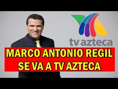 Marco Antonio Regil  se va a TV AZTECA tras SALIR de Televisa