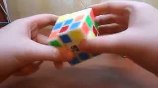 Как собрать кубик Рубика-самый подробный видеоурок для чайников. Часть 1