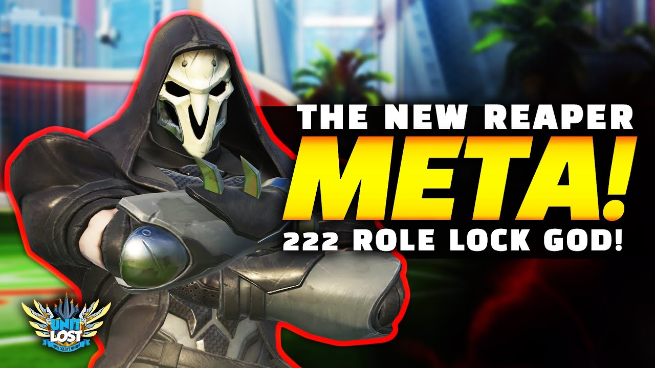 Overwatch | Reaper is INSANE! - NEW Role Lock META GOD! thumbnail