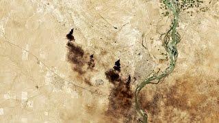 القوات العراقية تقترب من القيارة جنوب الموصل