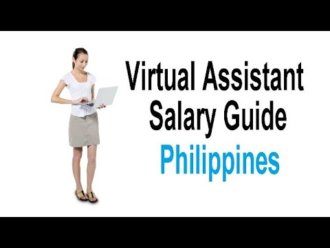Virtual Assistant Salary Guide Philippines - How Much To Pay Virtual Assistants Philippines