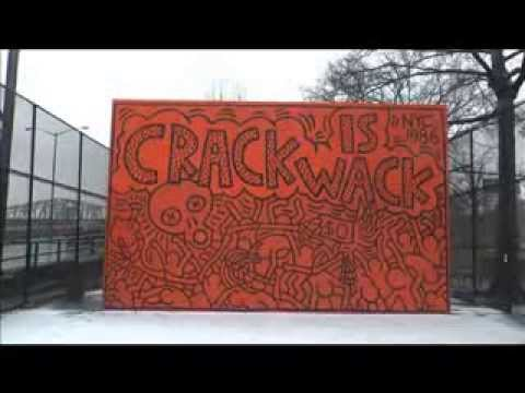 Full download keith haring crack is wack mural in harlem for Crack is wack keith haring mural