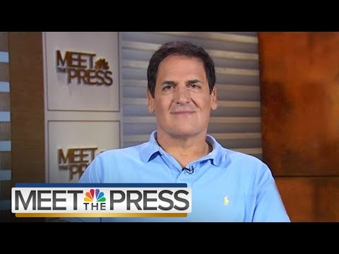 Mark Cuban on Donald Trump, Hillary Clinton, and Personal Politics | Meet The Press | NBC News