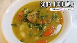 sopa RECICLADA, Sopa de Arveja I Lorentix