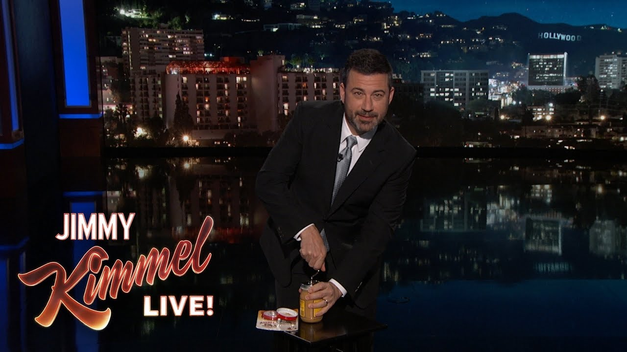 Jimmy Kimmel's Life-Changing Peanut Butter Discovery