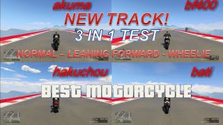 FASTEST MOTORCYCLE IN GTA 5 - AKUMA VS BATI VS BF400 VS HAKUCHOU DRAG RACE.