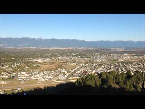 Kalispell MT Lone Pine State Park View Of Flathead Valley