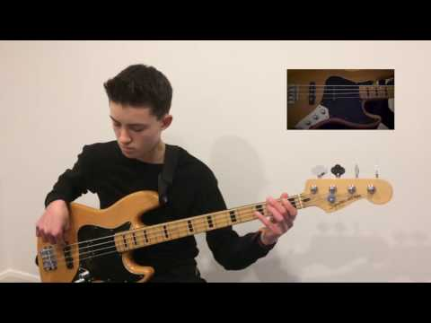 Squier by Fender Vintage Modified Maple Jazz bass demo - Adam Roberts