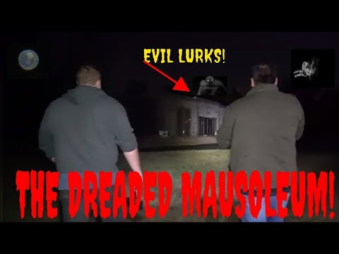 "HAUNTED MAUSOLEUM ""WERE GOING IN AGAIN AFTER AN ATTACK""!!"