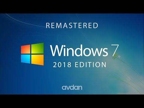 Windows 7 — 2018 Edition (Concept Design By Avdan)