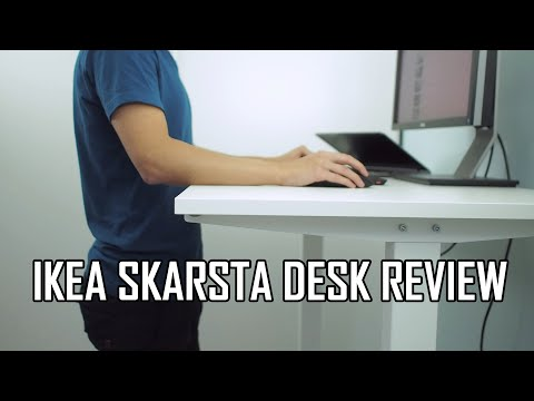 IKEA SKARSTA Sit Stand Desk Review