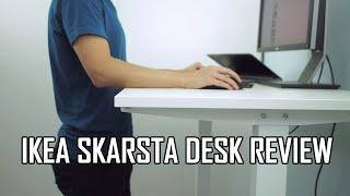 IKEA SKARSTA Sit Stand Desk Review