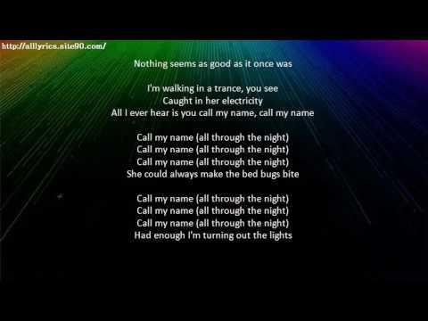 KASABIAN All Through The Night Lyrics Mp3