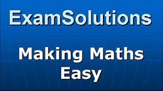Product Moment Coefficient : Statistics S1 Edexcel June 2013 Q1(b)(c) : ExamSolutions Maths Revision