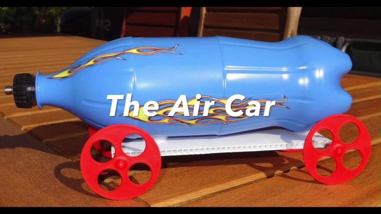 Compressed Air Car >> How To Make A Compressed Air Powered Car