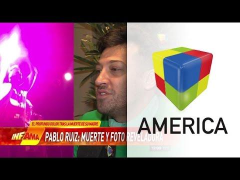 Pablo Ruiz y una sorprendente aparición luego de la muerte de su mamá