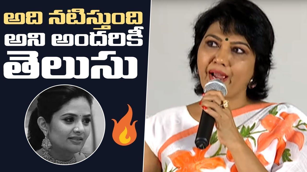 Bigg Boss 3 Contestant Hema Sensational Comments On Srimukhi | Manastars
