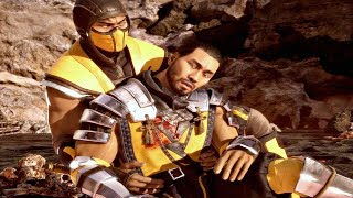 MORTAL KOMBAT 11 - Death of Scorpion Master Hasashi Cutscene (MK11 2019) PS4 Pro