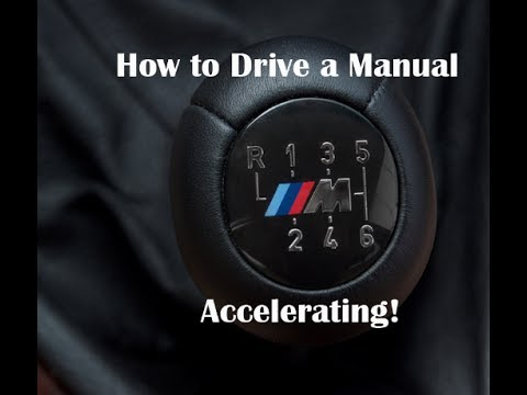 How to Drive a Manual - (Accelerating/Shifting at Full Throttle)