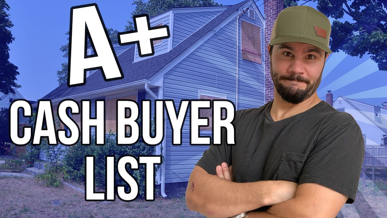 How To Create The Best Cash Buyers List [Hack Strategy]