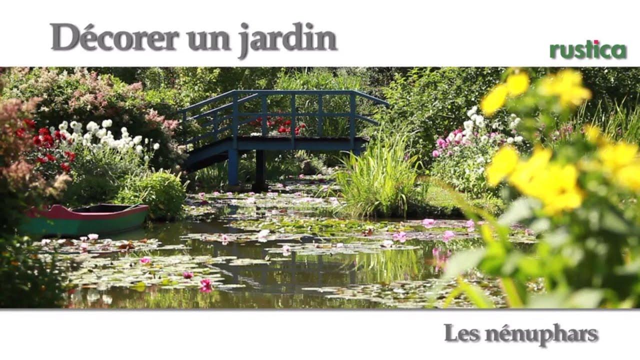 D corer un jardin les n nuphars youtube - Decorer un jardin ...