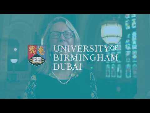 University of Birmingham Dubai - Professor Kathy Armour Pro-Vice-Chancellor for Education Welcome