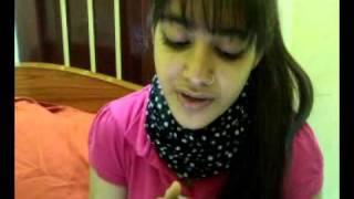 Me singin Zara zara (karaoke)