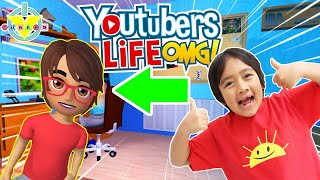 How to become a YouTuber like RYAN Let's Play YouTubers Life OMG!