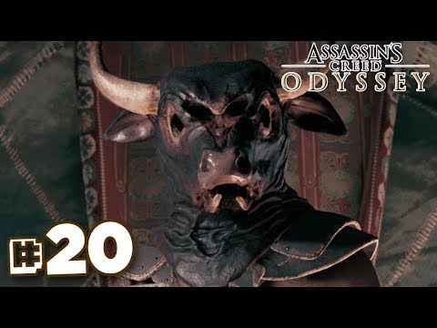 THE MINOTAUR! - Assassin's Creed Odyssey | Part 20 || FULL PLAYTHROUGH (PS4) HD