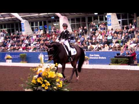 Sydney CDI 2015  Penny Castle and Magnus Spero in the Grand Prix Freestyle