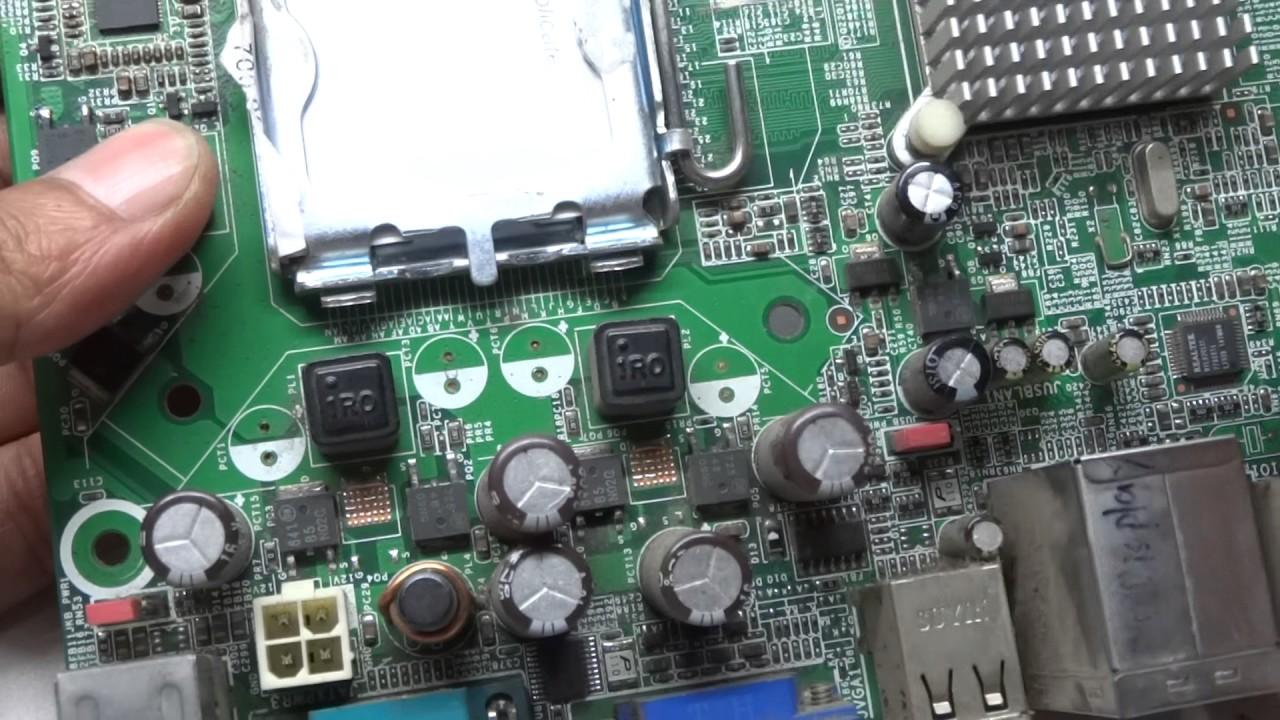 Motherboard Vrm Section In Details