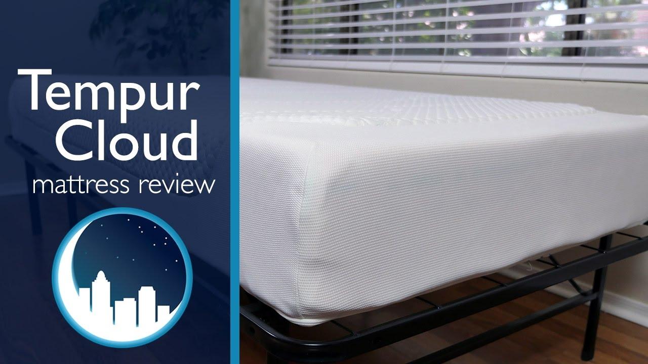 Materassi Memory Foam Tempur.Tempur Cloud Mattress Review