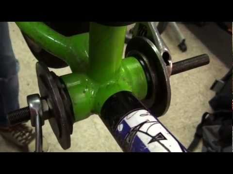 How To Install A Bottom Bracket (MID, BMX Bike)