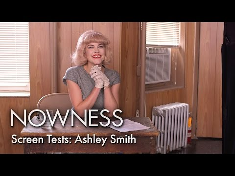 """Ashley Smith in """"Screen Tests"""" by Marissa Kaiser and Aura Friedman"""