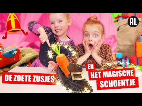 DE ZOETE ZUSJES en HET MAGISCHE SCHOENTJE! [Sinterklaas Film] ♥DeZoeteZusjes♥