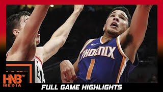 Phoenix Suns vs Portland Trail Blazers Full Game Highlights / Week 2 / 2017 NBA Season