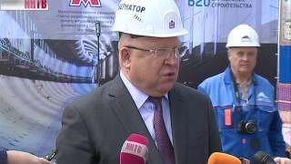 Тоннелепроходческий комплекс завершил работы на станции метро «Стрелка»