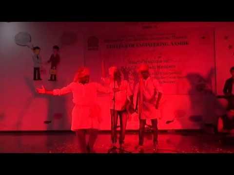 Shivaji maharajanchi kirti befaan powada|Marathi motivational song|by engineering students|mh15