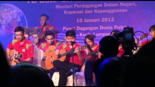 Perfomance by Yamaha Music School during the franchise blue print launch...